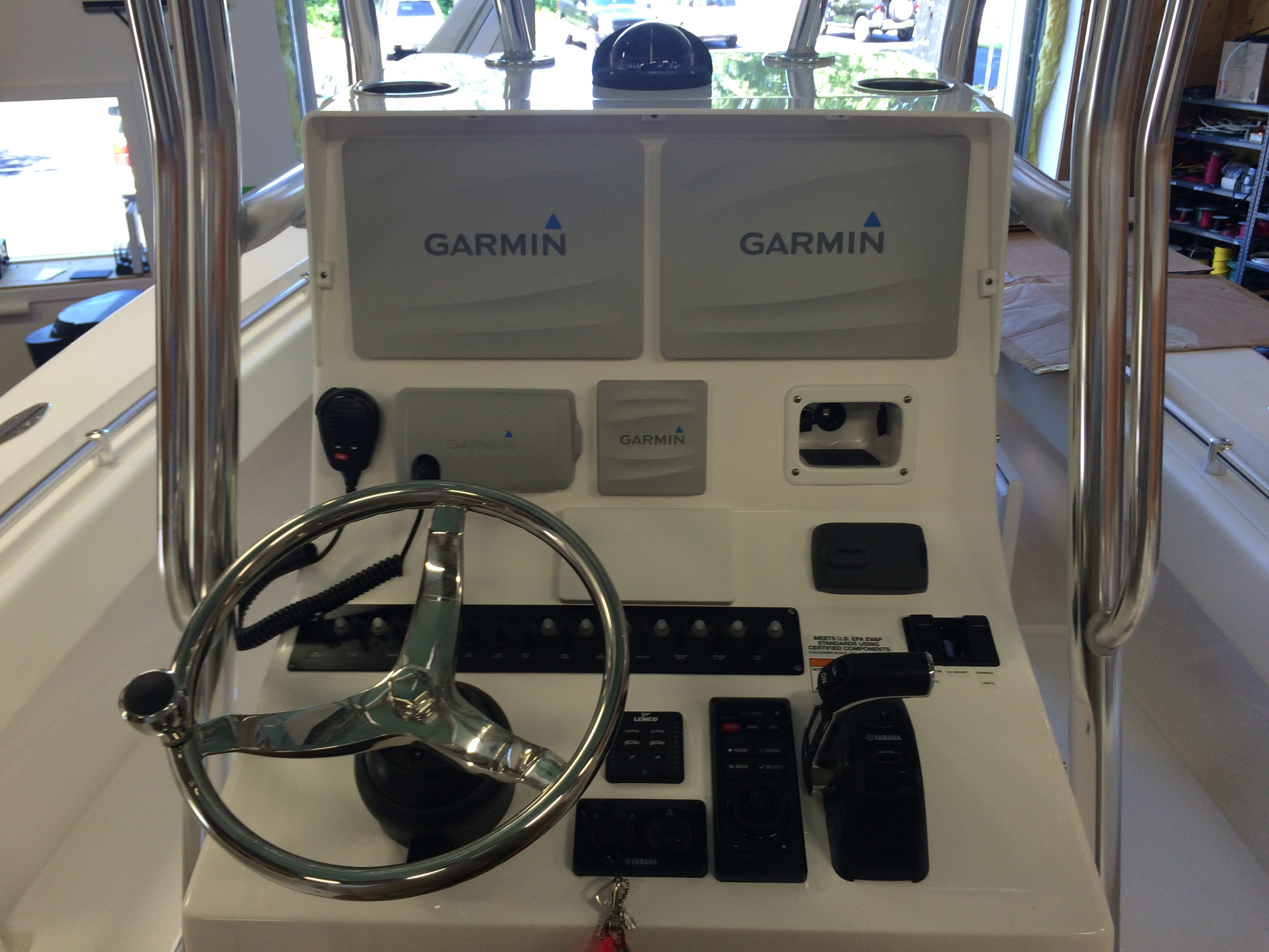 finished Garmin package helm – Young's Electronic Systems, Inc